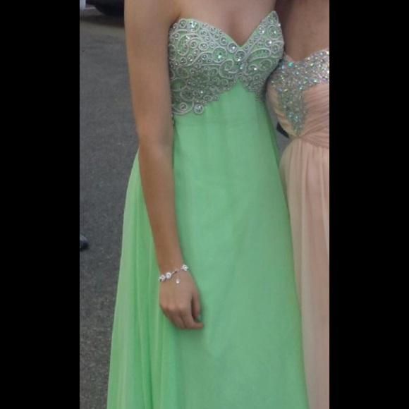 Dresses | Light Green Prom Dress | Poshmark